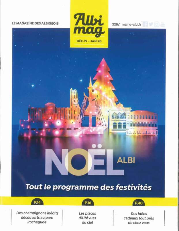 Couverture Albi Mag