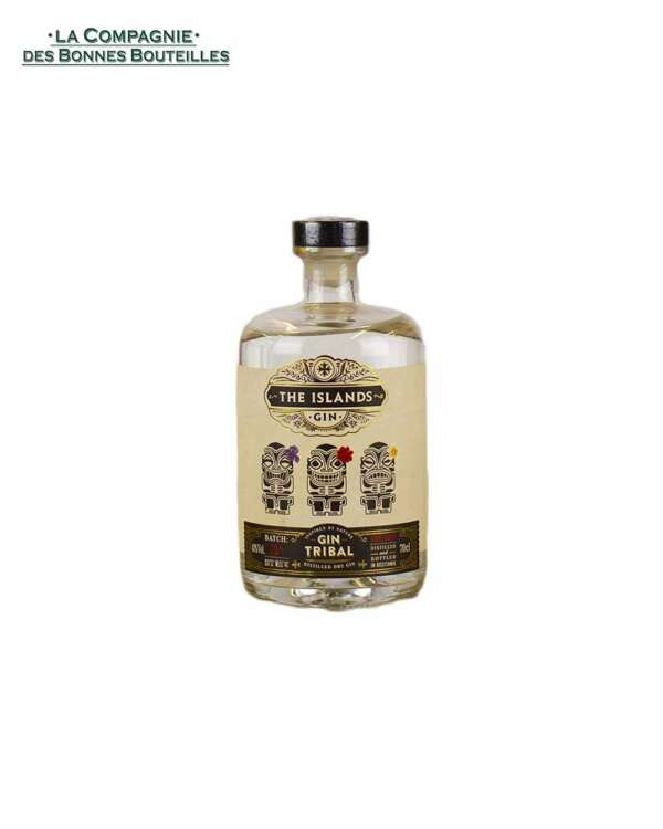 Gin The Islands Gin Tribal 70 cl